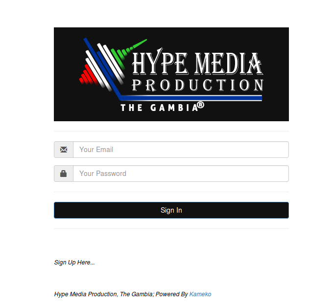 Hype Media Production Gambia