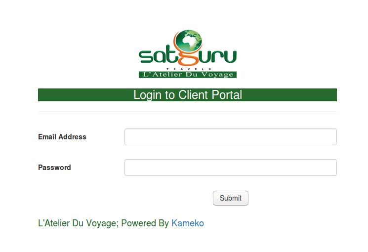 Satguru Rabat Client Portal