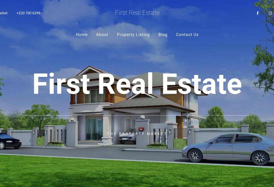 First Real Estate Website