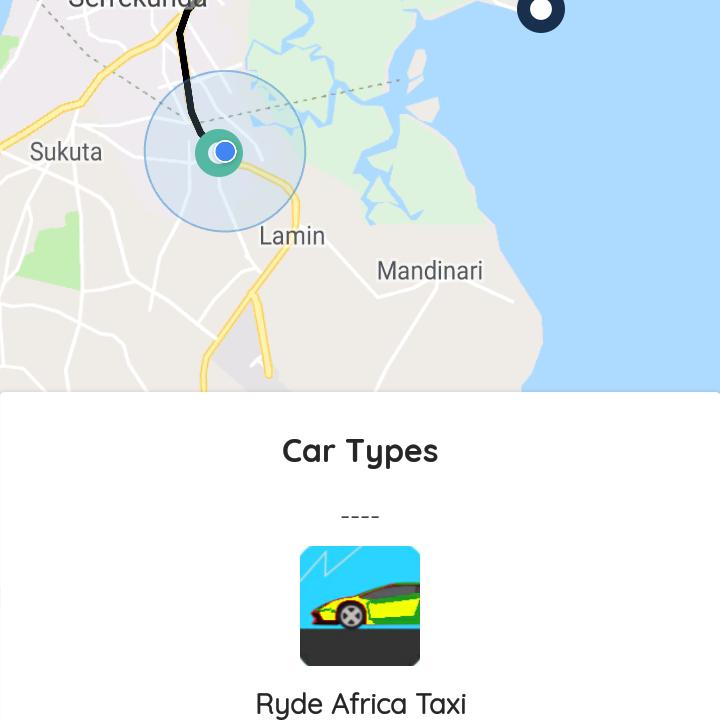 Ryde Africa Taxi App